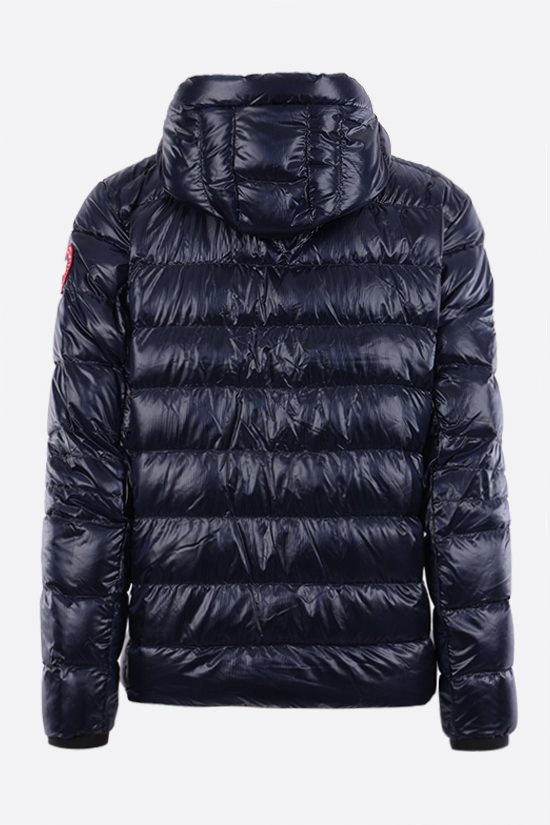 CANADA GOOSE: Crofton recycled nylon down jacket Color Blue_2