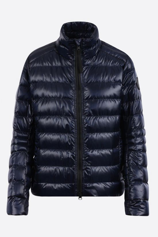 CANADA GOOSE: Cypress recycled nylon down jacket Color Blue_1