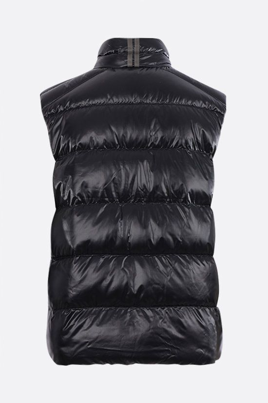 CANADA GOOSE: Cypress recycled nylon sleeveless down jacket Color Black_2