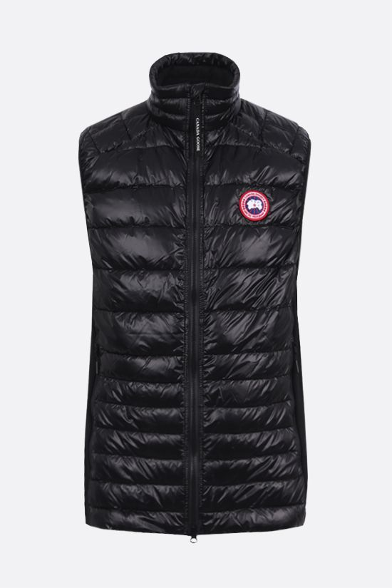 CANADA GOOSE: Hybridge Lite nylon sleeveless down jacket Color Black_1