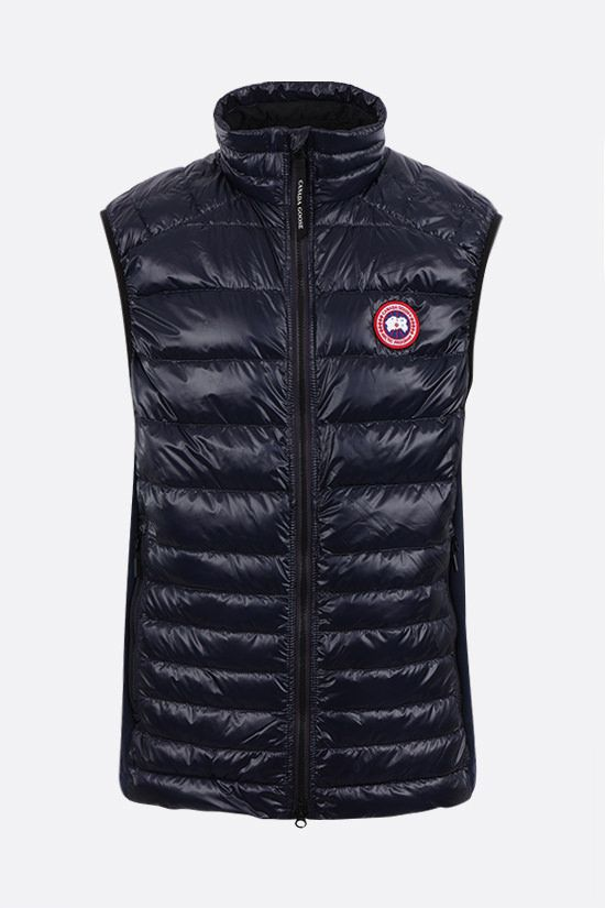 CANADA GOOSE: Hybridge Lite nylon sleeveless down jacket Color Blue_1