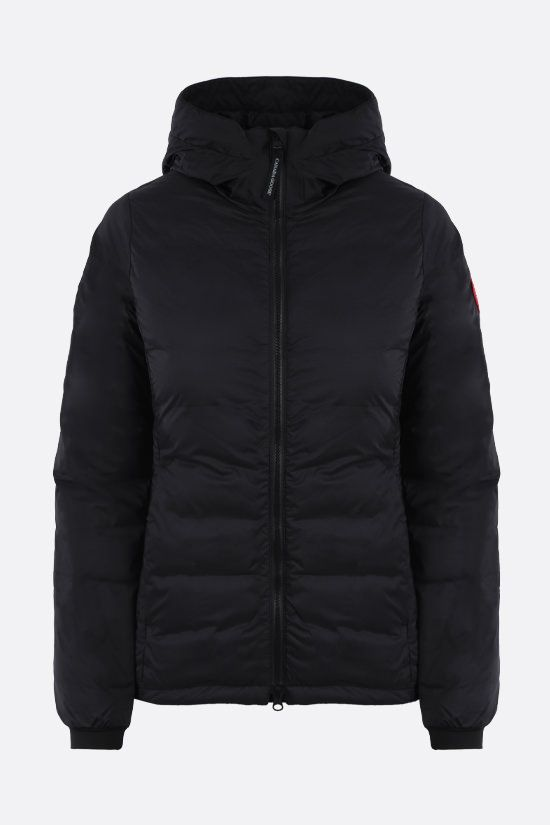 CANADA GOOSE: Camp nylon down jacket Color Black_1