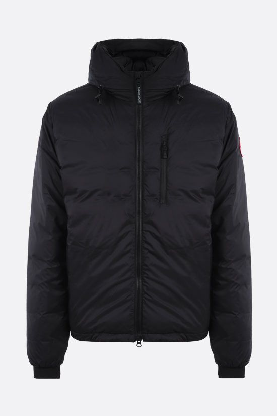 CANADA GOOSE: piumino Lodge in nylon Colore Nero_1