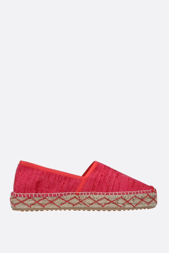 CAR SHOE: espadrilla in seta grezza Colore Neutro_1