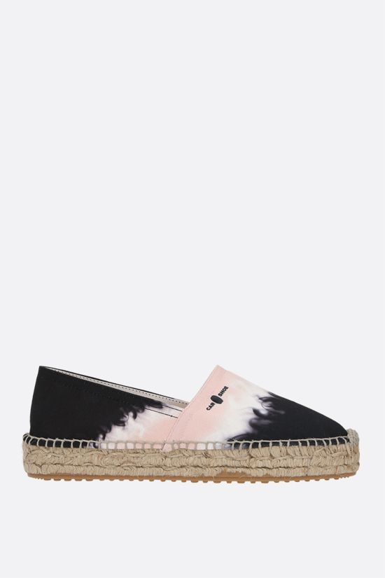 CAR SHOE: espadrilla in canvas stampato Colore Rosa_1