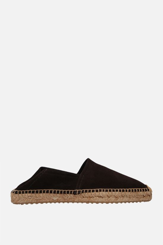 CAR SHOE: suede espadrilles Color Brown_2