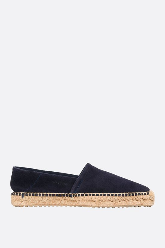 CAR SHOE: suede espadrilles Color Blue_1