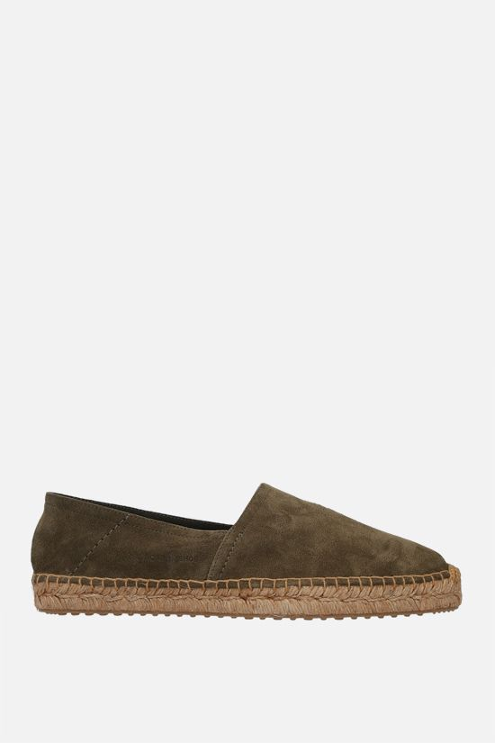 CAR SHOE: suede espadrilles Color Green_1