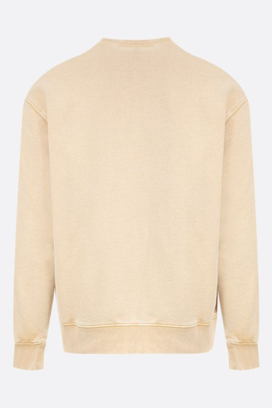 CARHARTT WIP: Mosby Script cotton sweatshirt Color Yellow_2