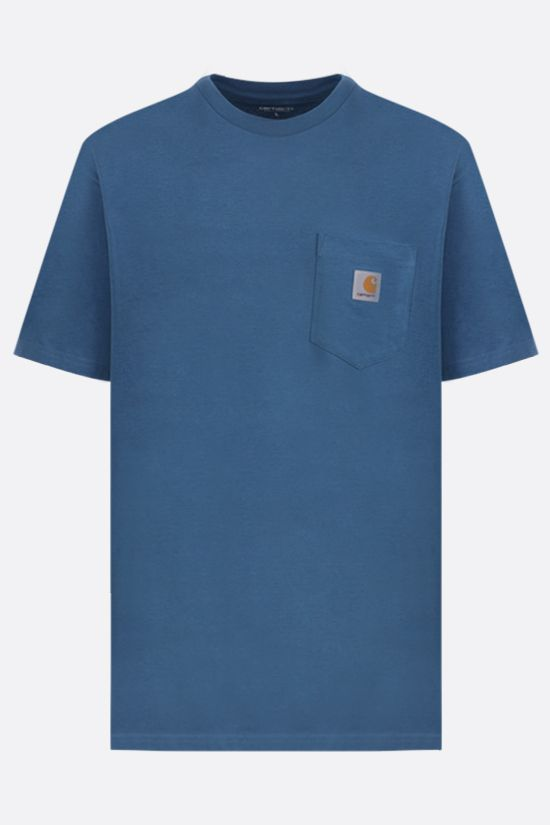CARHARTT WIP: logo-detailed cotton t-shirt Color Neutral_1