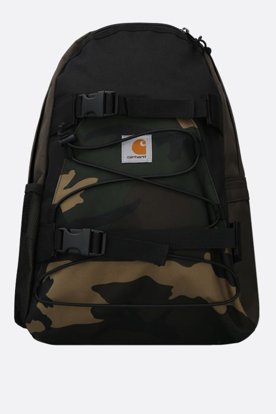 CARHARTT WIP: Kickflip camouflage print nylon backpack Color Multicolor_1