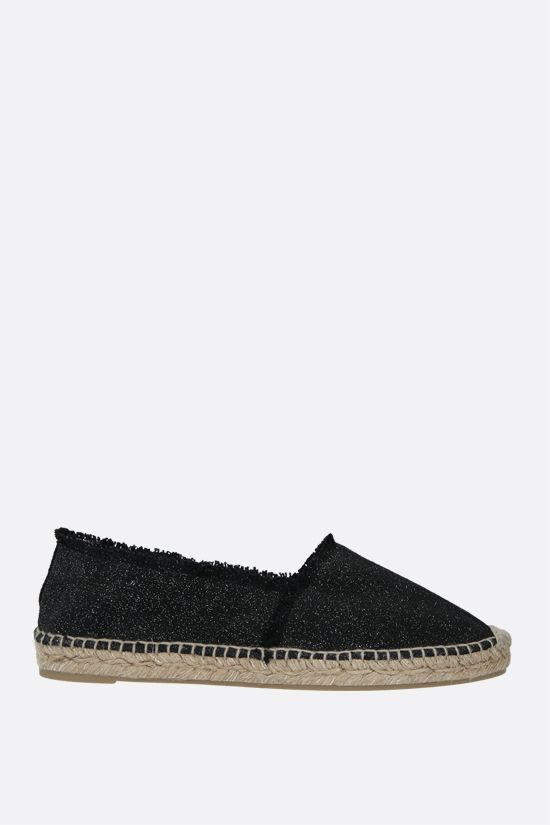 CASTANER: Kito canvas and lurex espadrilles Color Black_1
