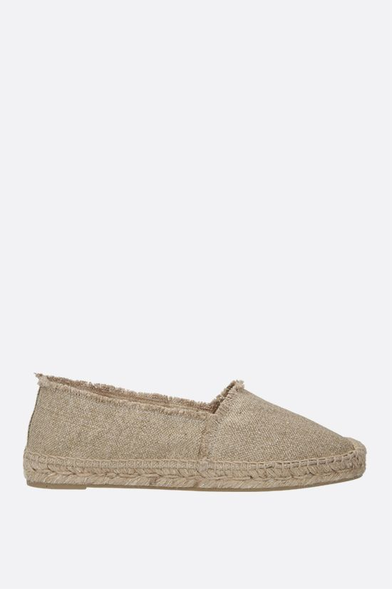 CASTANER: Kito canvas and lurex espadrilles Color Gold_1