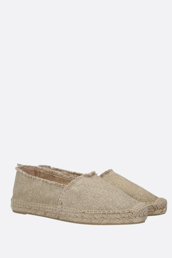 CASTANER: Kito canvas and lurex espadrilles Color Gold_2