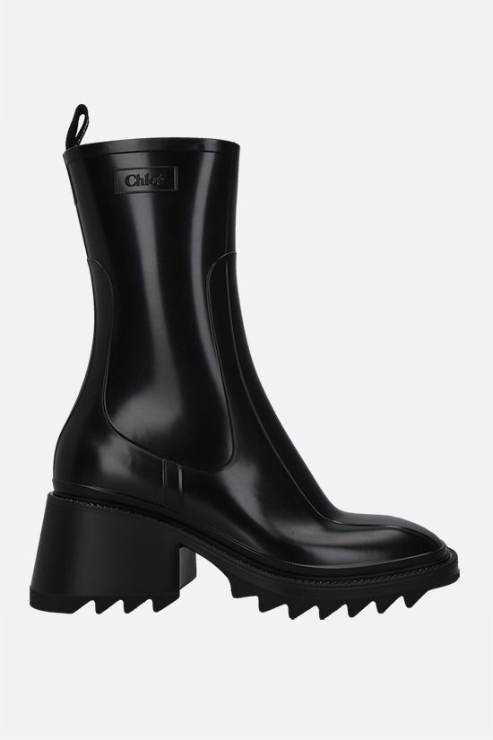 CHLOÈ: Betty PVC rain boots Color Black_1