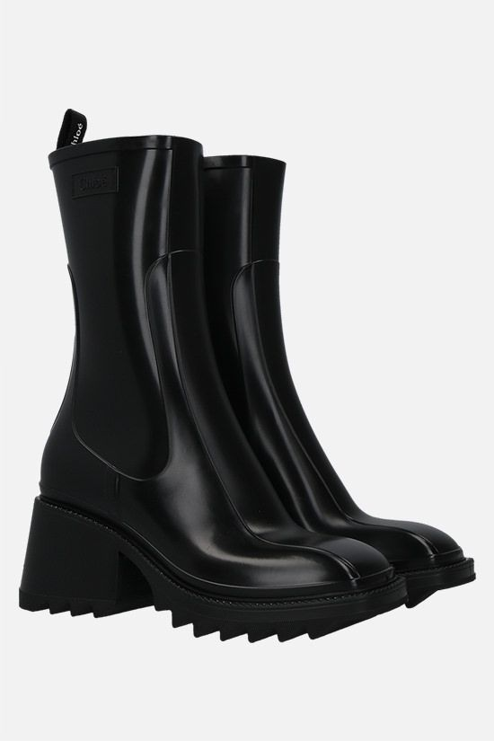 CHLOÈ: Betty PVC rain boots Color Black_2