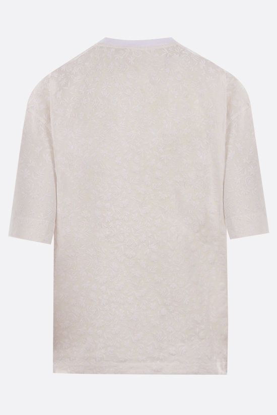 CHLOÈ: Chloè print cotton t-shirt Color White_2