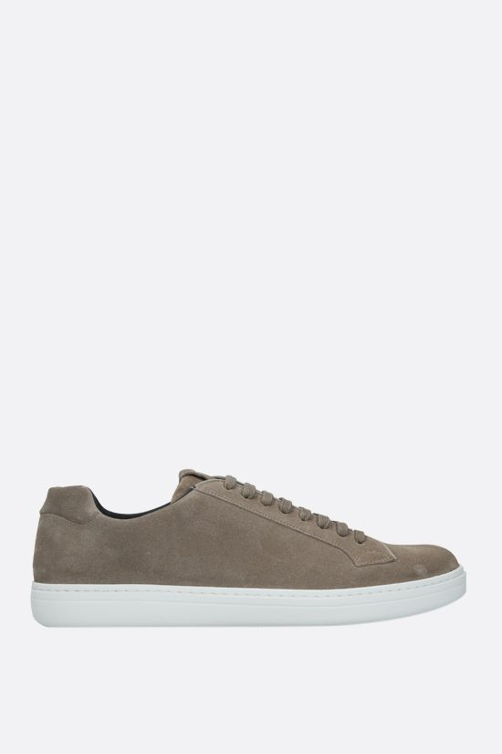 CHURCH'S: Boland suede sneakers Color Grey_1