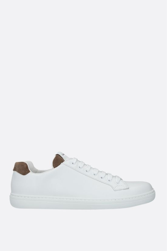 CHURCH'S: Boland Plus 2 smooth leather and suede sneakers Color White_1