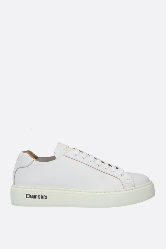 CHURCH'S: Mach 1 smooth leather sneakers Color White_1