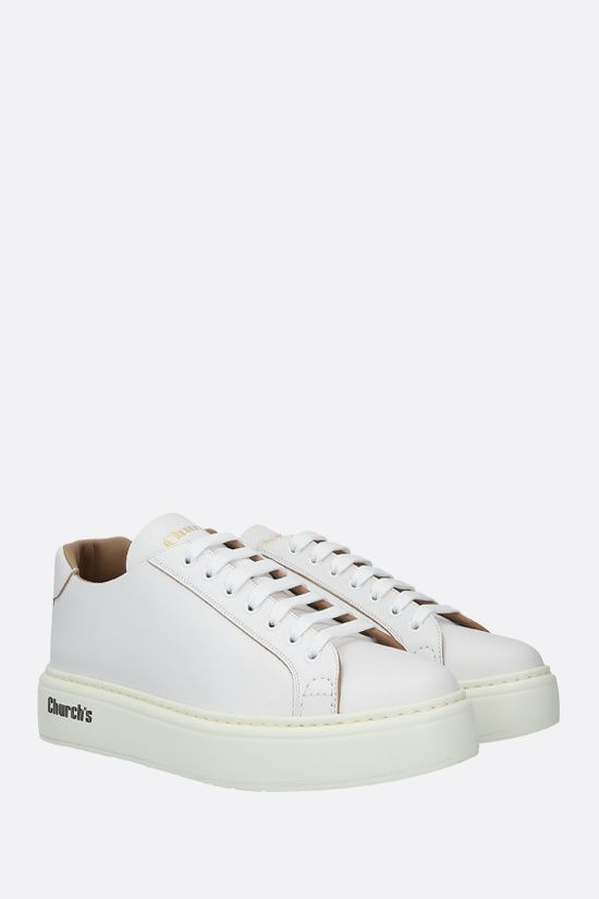 CHURCH'S: Mach 1 smooth leather sneakers Color White_2