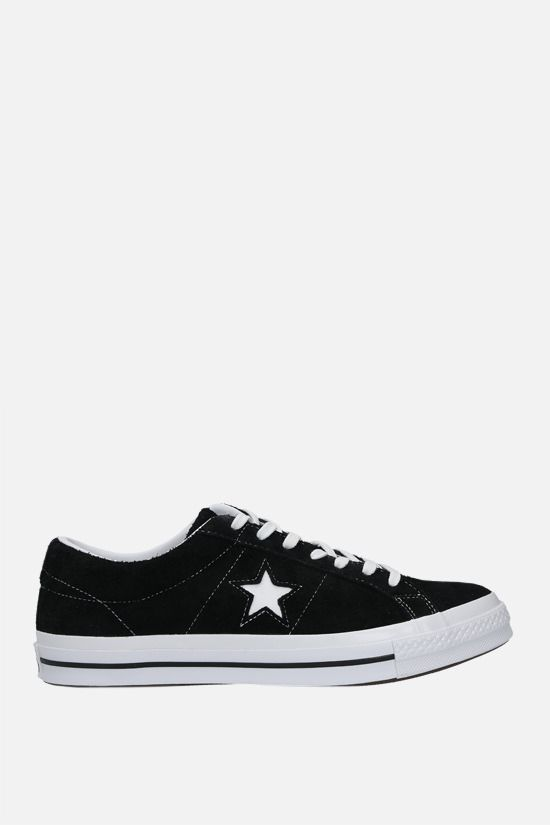 CONVERSE: One Star suede sneakers Color Black_1