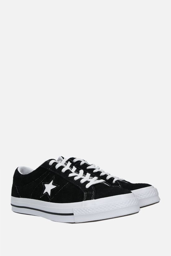 CONVERSE: One Star suede sneakers Color Black_2