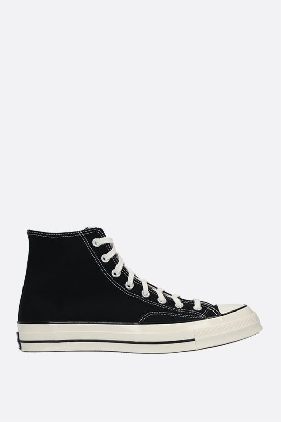 CONVERSE: sneaker high-top Chuck 70 in canvas Colore Nero_1