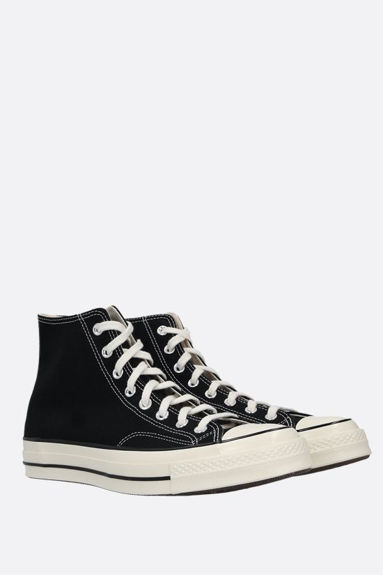 CONVERSE: sneaker high-top Chuck 70 in canvas Colore Nero_2