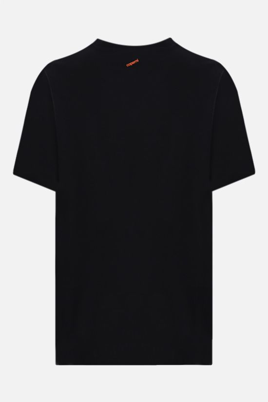 COPERNI: Coperni x Marc Hundley cotton oversize t-shirt Color Black_2
