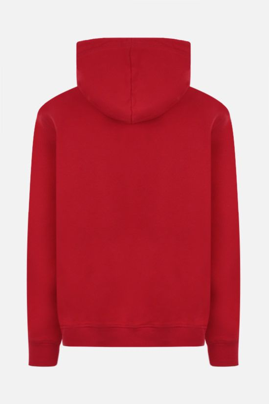 DSQUARED2: Dsquared2 icon cotton hoodie Color Red_2