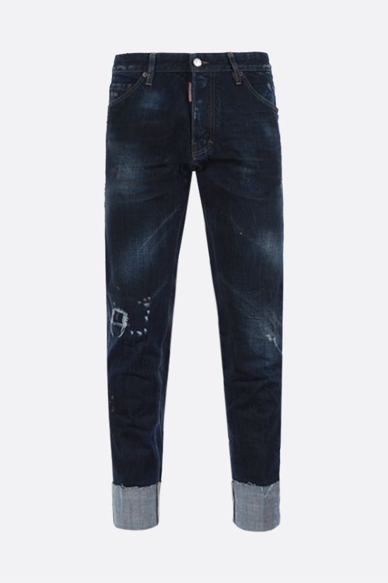 DSQUARED2: jeans cropped Cool Guy Colore Blu_1