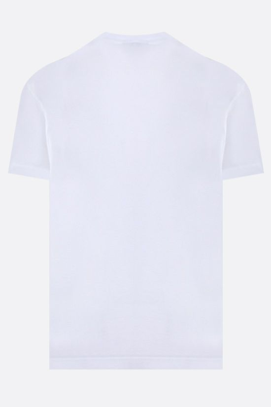 DSQUARED2: D2 Punk print cotton t-shirt Color White_2