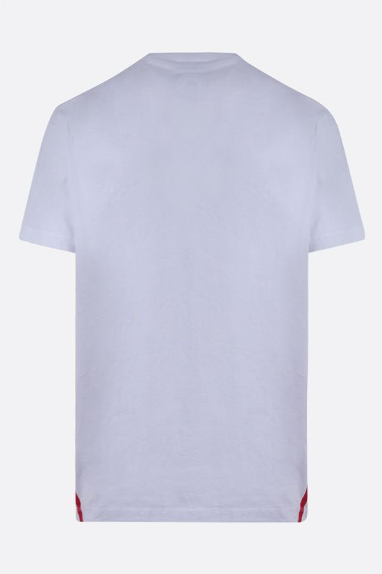 DSQUARED2: Dsquared2 1964 print cotton t-shirt Color White_2