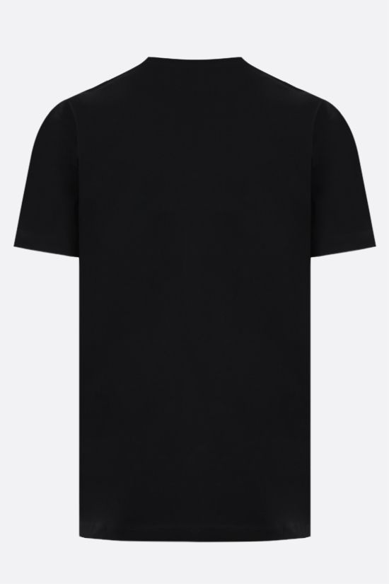DSQUARED2: Made in Italy print cotton t-shirt Color Black_2