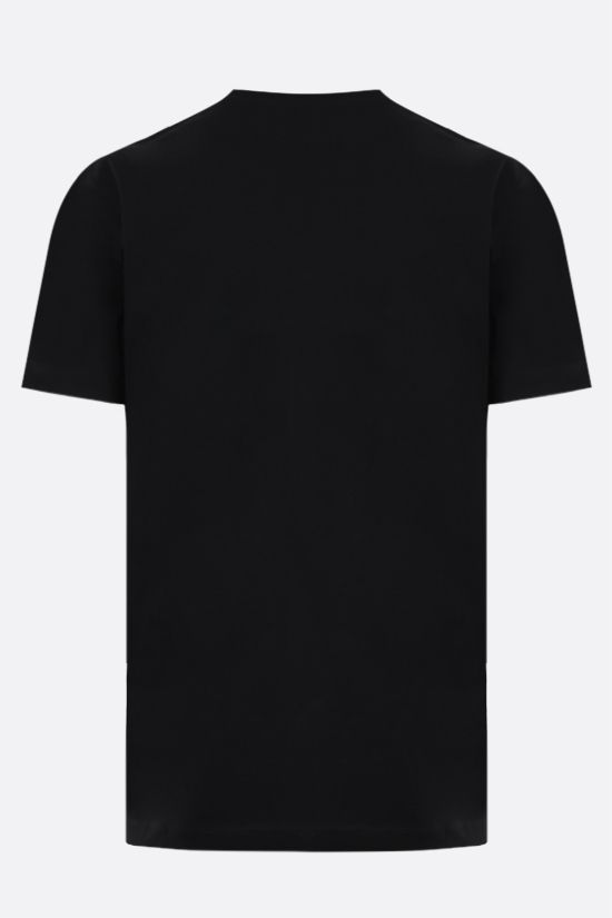 DSQUARED2: Icon Dsquared2 cotton t-shirt Color Black_2