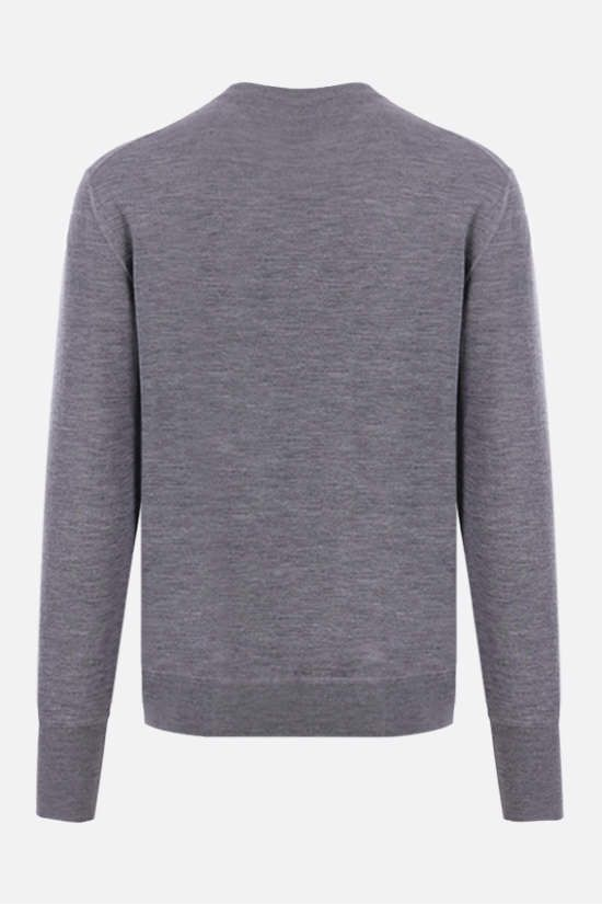 ELEVENTY: combed wool pullover Color Grey_2