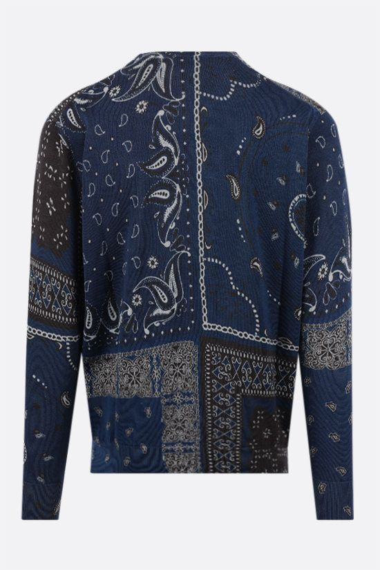 ETRO: patchwork print cotton pullover Color Multicolor_2