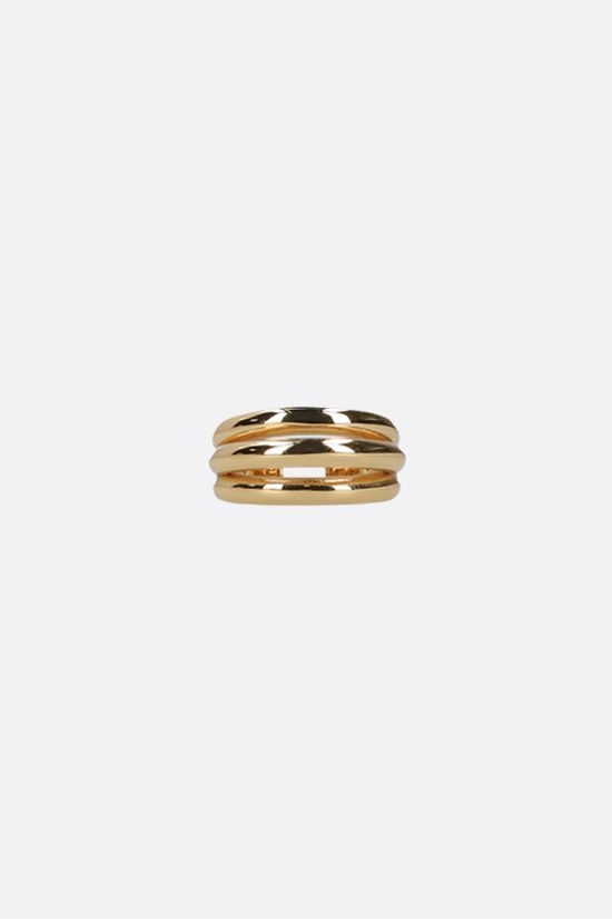 FEDERICA TOSI: Ale small bronze ring Color Gold_1