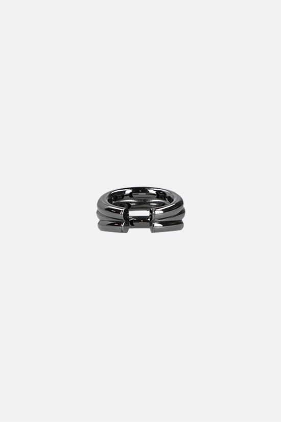 FEDERICA TOSI: Ale small bronze ring Color Black_2