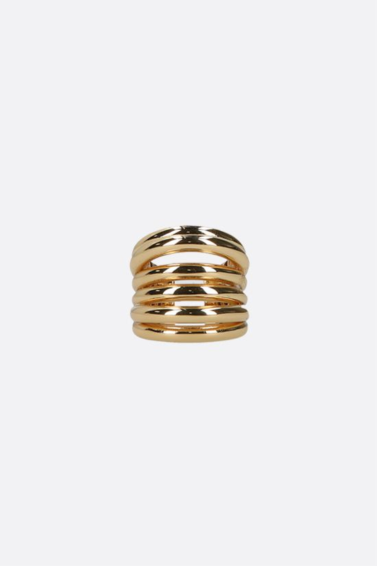 FEDERICA TOSI: Ale bronze ring Color Gold_1