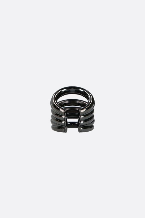FEDERICA TOSI: Ale bronze ring Color Black_2