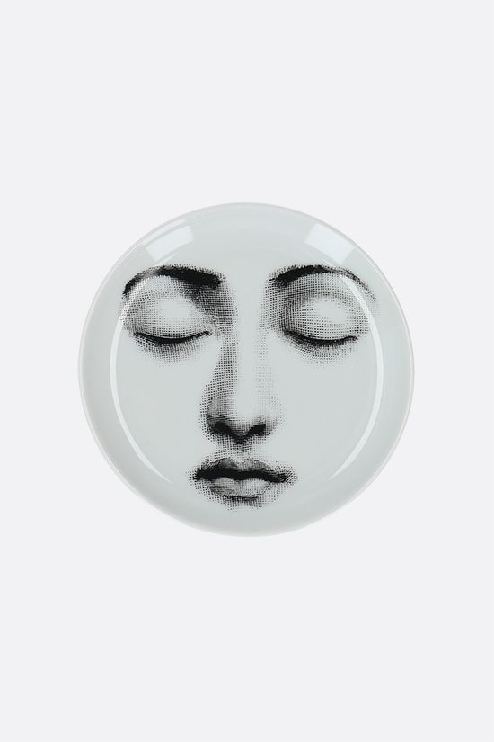 FORNASETTI: Tema e Variazioni N°213 ceramic coaster Color Grey_1