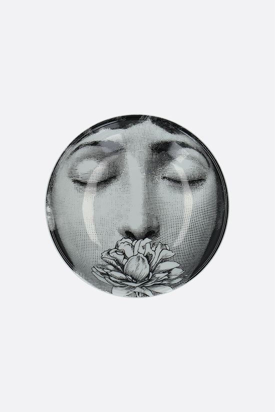 FORNASETTI: Tema e Variazioni N°393 ceramic round ashtray Color Grey_1