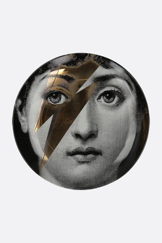 FORNASETTI: Tema e Variazione N° 375 ceramic wall plate Color Multicolor_1