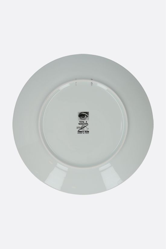 FORNASETTI: Tema e Variazione N° 375 ceramic wall plate Color Multicolor_2
