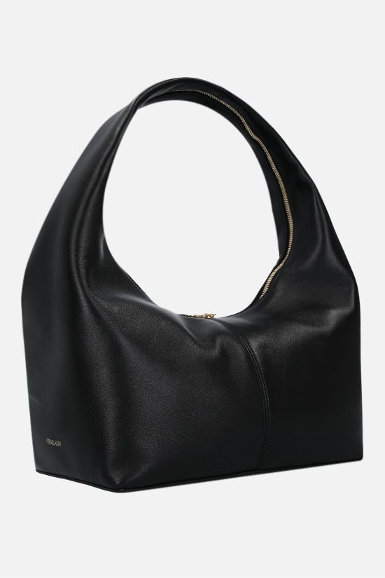 FRENZLAUER: Panier soft nappa handbag Color Black_2