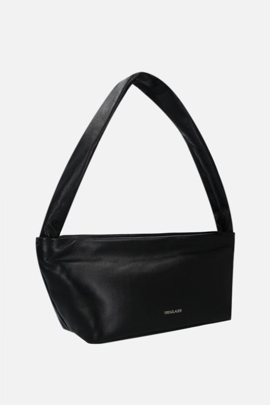 FRENZLAUER: Bateau soft nappa shoulder bag Color Black_2