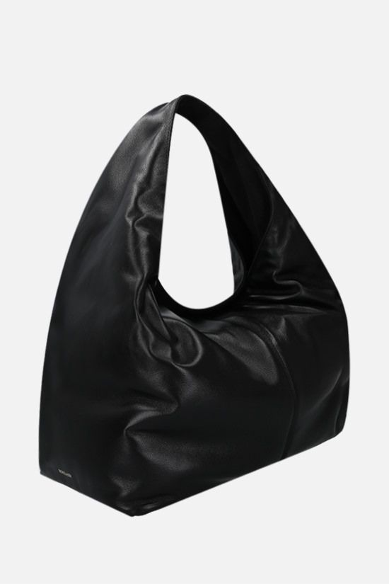 FRENZLAUER: Softie soft nappa hobo bag Color Black_2