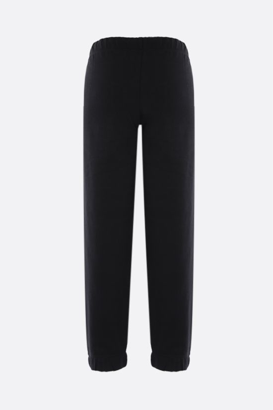 GANNI: Software Isoli cotton blend joggers Color Black_2